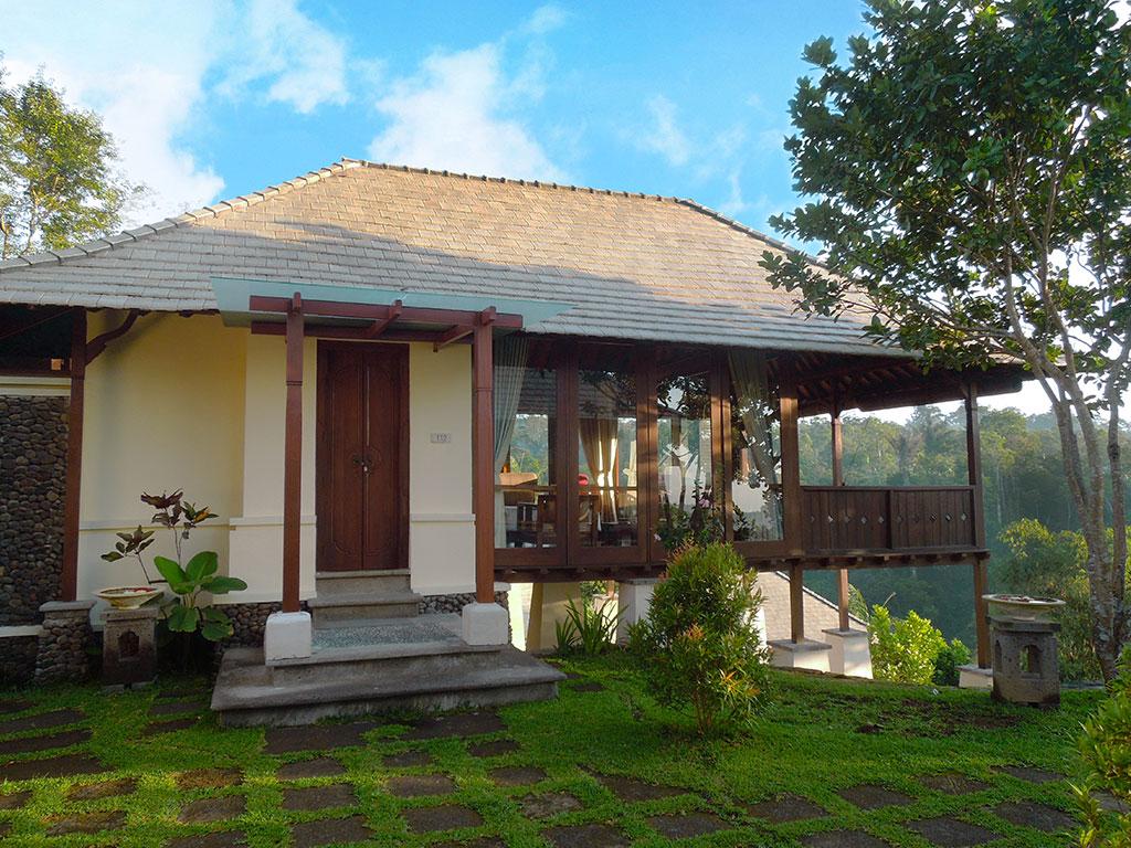 Luxury Farm Villa front door
