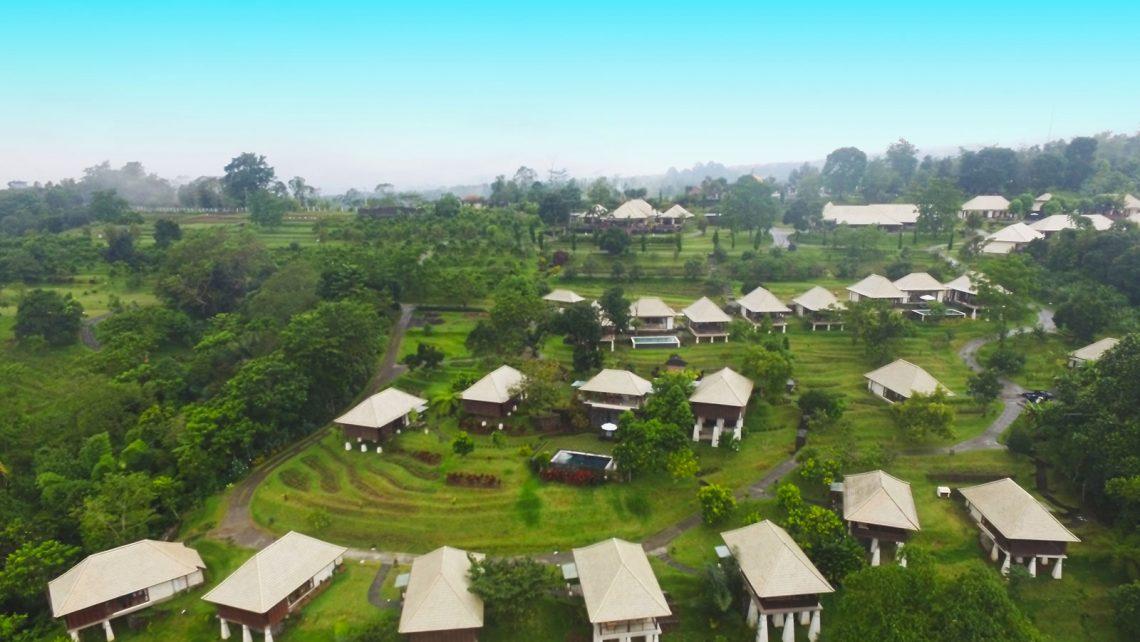 Bagus Agro Pelaga aerial view banner