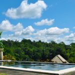 Pool of the One-Bedroom Pool Villa overlooking the forest