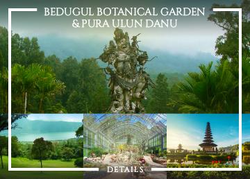 Kebun Raya Bedugul and Ulun Danu Batur Temple