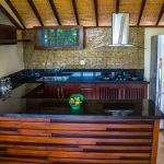 Two Bedroom Pool Villa's kitchen and appliances